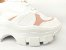 Tênis Chunky Sneaker Branco com Rosê Solado Branco 6 cm - Imagem 3