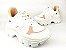 Tênis Chunky Sneaker Branco com Rosê Solado Branco 6 cm - Imagem 5