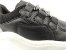 Tênis Chunky Sneaker Preto com Prata Solado Branco 6 cm - Imagem 5