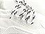 Tênis Chunky Sneaker Branco Têxtil Solado 5 cm - Imagem 4