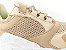 Tênis Chunky Sneaker Nude Clássico com Solado Branco 5 cm - Imagem 4
