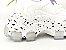 Tênis Chunky Sneaker Branco com Lilás Solado Decorado 6 cm - Imagem 6