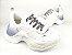 Tênis Chunky Sneaker Branco Total Solado 5 cm - Imagem 5