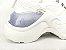Tênis Chunky Sneaker Branco Total Solado 5 cm - Imagem 8