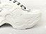 Tênis Chunky Sneaker Branco Total Solado 5 cm - Imagem 2