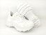 Tênis Chunky Sneaker Branco Total Clássico com Solado 5 cm - Imagem 10
