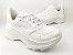 Tênis Chunky Sneaker Branco Total Clássico com Solado 5 cm - Imagem 3
