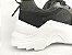 Tênis Chunky Sneaker Preto Clássico com Solado Branco 5 cm - Imagem 7