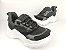 Tênis Chunky Sneaker Preto Clássico com Solado Branco 5 cm - Imagem 2