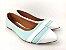 Sapatilha Azul Turquesa com Faixa Frente Branca - Imagem 2