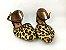 Sapatilha Onça com Marrom Atrás com Fivela no Tornozelo - Imagem 4