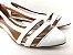 Sapatilha Branca com Transparência Clássica - Imagem 3