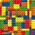 Papel Adesivo 45cm x 10m - Pinos Mágicos - Imagem 1