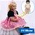 Bebê Reborn 3/4 Silicone Princesa Jéssica 60cm - Pronta Entrega! - Imagem 1