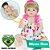 Bebê Reborn Engrácia Loira de Olhos Azuis 55cm - Pronta Entrega! - Imagem 1