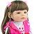 Bebê Reborn Poliana 55cm com Penteado Maria Chiquinha - Imagem 8
