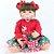 Bebê Reborn 55cm My First Christmas - Edição Especial! - Imagem 1