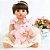 Bebê Reborn Toda em Silicone 55cm Yanka com Coelho - Imagem 1