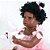 Bebê Reborn Gleice 55cm com Vestido Rosa - Imagem 6