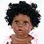 Bebê Reborn Gleice 55cm com Vestido Rosa - Imagem 7
