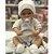 Boneco Estilo Bebê Reborn Paul Elegance 40cm Baby Brink - Pronta Entrega! - Imagem 4