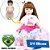 Bebê Reborn Clara 60cm em 3/4 Silicone com Roupinha de Sorvete - Pronta Entrega! - Imagem 1