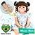 Bebê Reborn Perla 55cm Toda em Silicone com Elefantinho - Pronta Entrega! - Imagem 1