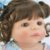 Bebê Reborn Perla 55cm Toda em Silicone com Elefantinho - Pronta Entrega! - Imagem 8