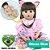 Bebê Reborn Priscila 55cm com Gatinho Rosa, Tiara e Pente - Pronta Entrega! - Imagem 1