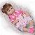 Bebê Reborn Pietra 3/4 Silicone 42cm com Vestido de Bolinhas - Pronta Entrega! - Imagem 3