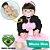 Bebê Reborn Carolina 55cm com Saia Rosa - Pronta Entrega! - Imagem 1