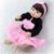 Bebê Reborn Carolina 55cm com Saia Rosa - Pronta Entrega! - Imagem 2