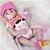 Bebê Reborn Marina Cow 55cm Toda em Silicone - Pronta Entrega! - Imagem 2
