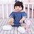 Bebê Reborn Isabelly 55cm com Enxoval Jeans - Pronta Entrega! - Imagem 2