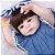Bebê Reborn Isabelly 55cm com Enxoval Jeans - Pronta Entrega! - Imagem 8
