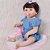 Bebê Reborn Louise 55cm com Corpinho em Silicone - Pronta Entrega! - Imagem 4