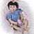 Bebê Reborn Louise 55cm com Corpinho em Silicone - Pronta Entrega! - Imagem 2