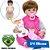 Bebê Reborn Larinha 42cm 3/4 Silicone Campeã de Vendas - Pronta Entrega! - Imagem 1