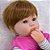 Bebê Reborn Larinha 42cm 3/4 Silicone Campeã de Vendas - Pronta Entrega! - Imagem 8