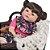 Bebê Reborn Ester 55cm com Pelúcia Sortida Grande - Pronta Entrega! - Imagem 7