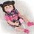 Bebê Reborn Ester 55cm com Pelúcia Sortida Grande - Pronta Entrega! - Imagem 2