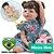 Bebê Reborn Hadassa 55cm com Vestido Florido - Pronta Entrega! - Imagem 1