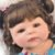 Bebê Reborn Hadassa 55cm com Vestido Florido - Pronta Entrega! - Imagem 7