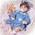 Bebê Reborn Milena 42cm 3/4 Silicone com Ursinho - Pronta Entrega! - Imagem 3