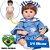 Bebê Reborn Milena 42cm 3/4 Silicone com Ursinho - Pronta Entrega! - Imagem 1