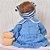 Bebê Reborn Milena 42cm 3/4 Silicone com Ursinho - Pronta Entrega! - Imagem 5