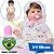 Bebê Reborn Luiza 42cm 3/4 Silicone com Enxoval Floral - Pronta Entrega! - Imagem 1