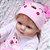 Bebê Reborn Laura Baby Rafaela 55cm - Pronta Entrega! - Imagem 8