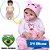 Bebê Reborn Laura Baby Rafaela 55cm - Pronta Entrega! - Imagem 1