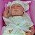Bebê Reborn 40cm Baby Brink July Muito Realística - Pronta Entrega! - Imagem 3